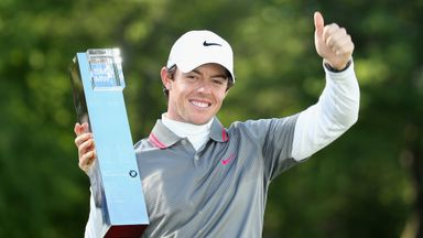 Rory McIlroy came from seven shots behind to win at Wentworth last year