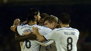 Toni Kroos (2nd r): Scored Germany's winner against Spain