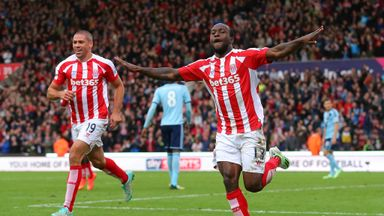 Victor Moses: Has enjoyed a productive start to Stoke loan