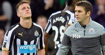 Ryan Taylor:  Exits Newcastle's clash with QPR with an injury