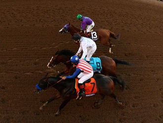 Bayern beats Toast Of New York and California Chrome to the Breeders' Cup Classic