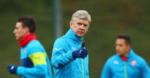 Arsene Wenger: Ready to bet Arsenal will have a good season