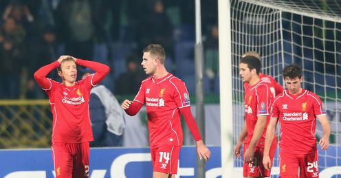 Liverpool were denied victory by a late header from a Ludogorets corner