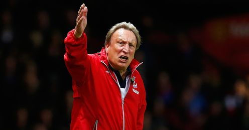 Neil Warnock: Delighted with Palace's overall display