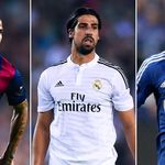 Dani Alves, Sami Khedira and Klaas-Jan Huntelaar could all make PL moves