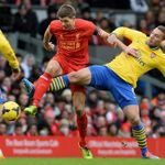 Steven Gerrard and Lukas Podolski: Anfield draw predicted