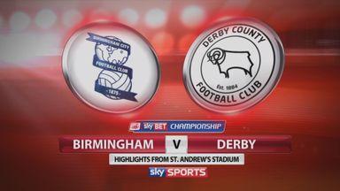 Birmingham 0-4 Derby