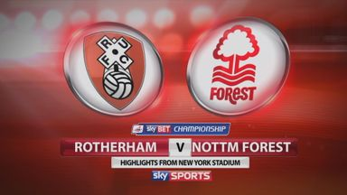 Rotherham 0-0 Nott'm Forest