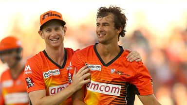 Ashton Agar (right) could be back in the Australia team for the Sydney Test
