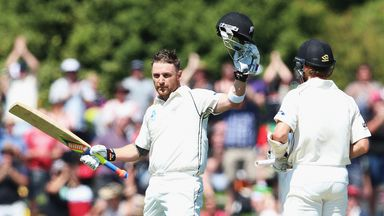 Brendon McCullum: Hit record 74-ball century