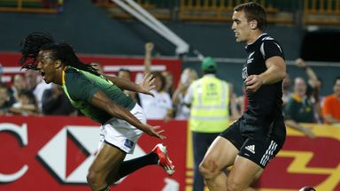 Cecil Afrika: Became South Africa's all-time leading points scorer on day one in Port Elizabeth