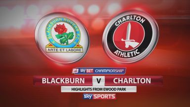Blackburn 2-0 Charlton
