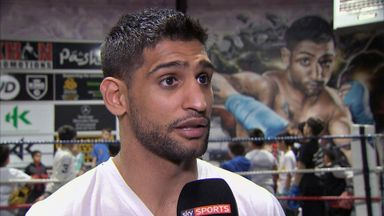 Amir Khan: Desperate to fight Floyd Mayweather Jr