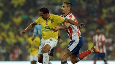 Michael Chopra: In action for ISL side Kerala Blasters
