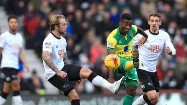 Alex Tettey (right): Banned for Norwich