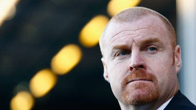 Sean Dyche: The Burnley manager wants to strengthen his midfield in January.