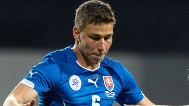 Filip Kiss, pictured here playing for Slovakia, could return for Ross County on Saturday