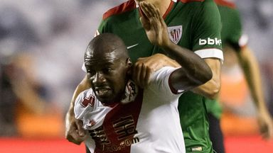 Gael Kakuta: Scored for Rayo Vallecano