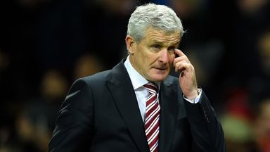 Mark Hughes: Keen to keep attracting top players to Stoke