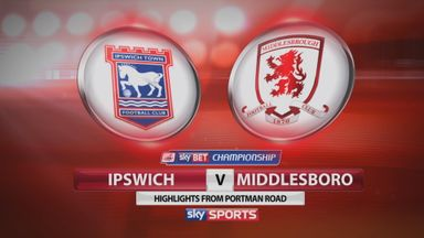 Ipswich 2-0 Middlesbrough