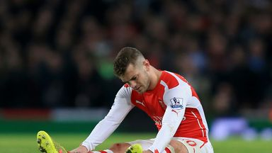 Arsenal have suffered a succession of injuries this season