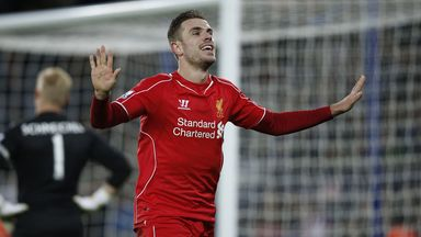 Jordan Henderson: Liverpool vice-captain will be part of a guard of honour for champions Chelsea