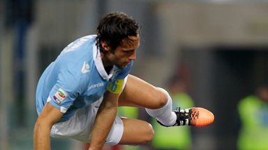 Stefano Mauri: Scored twice as Lazio beat Atalanta 3-0