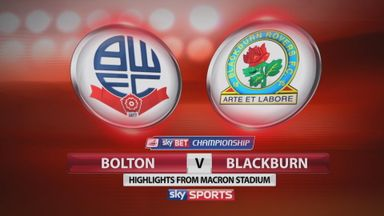 Bolton 2-1 Blackburn