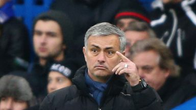 Jose Mourinho: Delighted with his side's display against West Ham