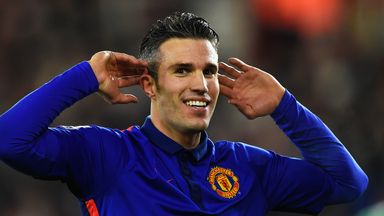 Robin van Persie: Has 18 months to run on current contract