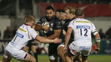 Billy Vunipola was back to his rampaging best for Saracens