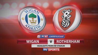Wigan 1-2 Rotherham