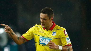 Sejad Salihovic: Celebrates his second against Hertha Berlin