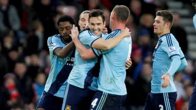 Stewart Downing celebrates his equaliser against Sunderland