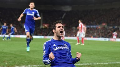 Cesc Fabregas: Spaniard looks set to return for the game against Everton at Stamford Bridge.