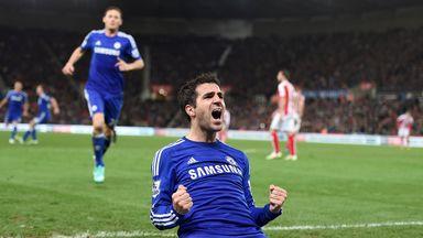 Cesc Fabregas: Spaniard looks set to return for the game against Everton at Stamford Bridge.