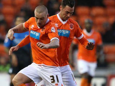 Jamie O'Hara was the hero for Blackpool