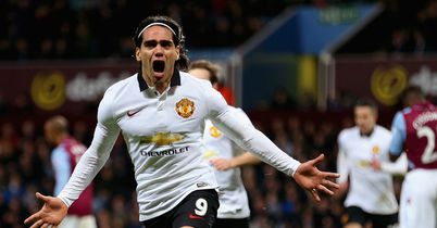 Radamel Falcao has struggled for goals at Man Utd