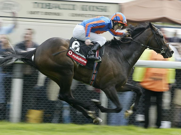 High Chaparral winning the Derby