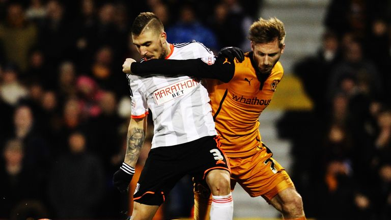 James Henry (right): Late equaliser for Bolton