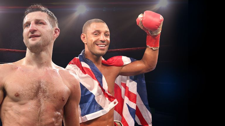 Carl Froch: believes Kell Brook is getting better and better
