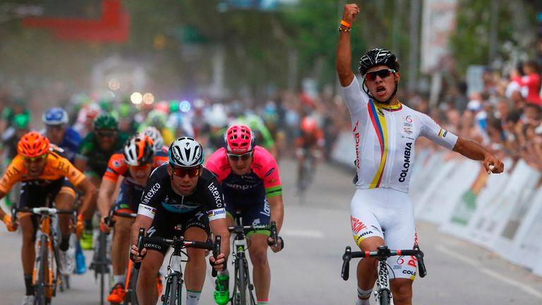 Tour De San Luis Mark Cavendish Beaten Into Second Place