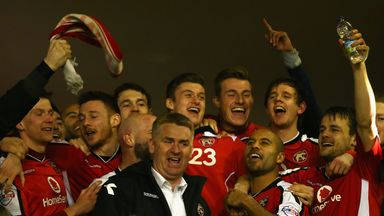 Dean Smith: Immensely proud to reach Wembley