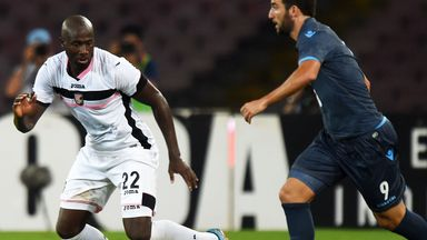 Sol Bamba (left): Ivory Coast defender will spent rest of season at Leeds