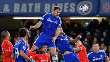 Branislav Ivanovic: Scored the winner against Liverpool
