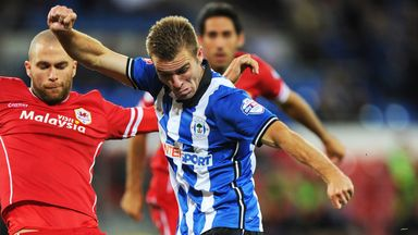 Wigan's Callum McManaman has been the subject of a pair of bids from West Brom
