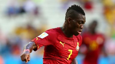 Christian Atsu: Spending next season on the south coast