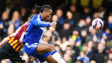 Didier Drogba: The Blues striker has netted six times this season