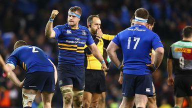 Jamie Heaslip says Leinster are relishing Sunday's clash with Toulon in Marseille