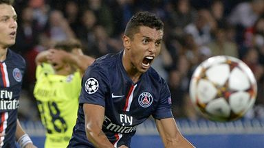 Marquinhos: Signed for PSG from Roma in 2013